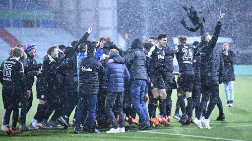 Holstein Kiel siegte gegen den FC Bayern
