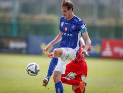 Fabian Schubert traf gegen den GAK dreimal