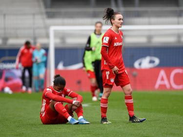 Enttäuschung beim Frauenteam des FC Bayern München