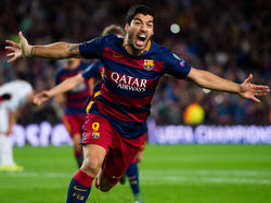 Luis Suárez erzielte den 2:1-Siegtreffer für Barça gegen Leverksuen
