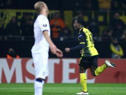 Michy Batshuayi erzielte einen Doppelpack für Borussia Dortmund
