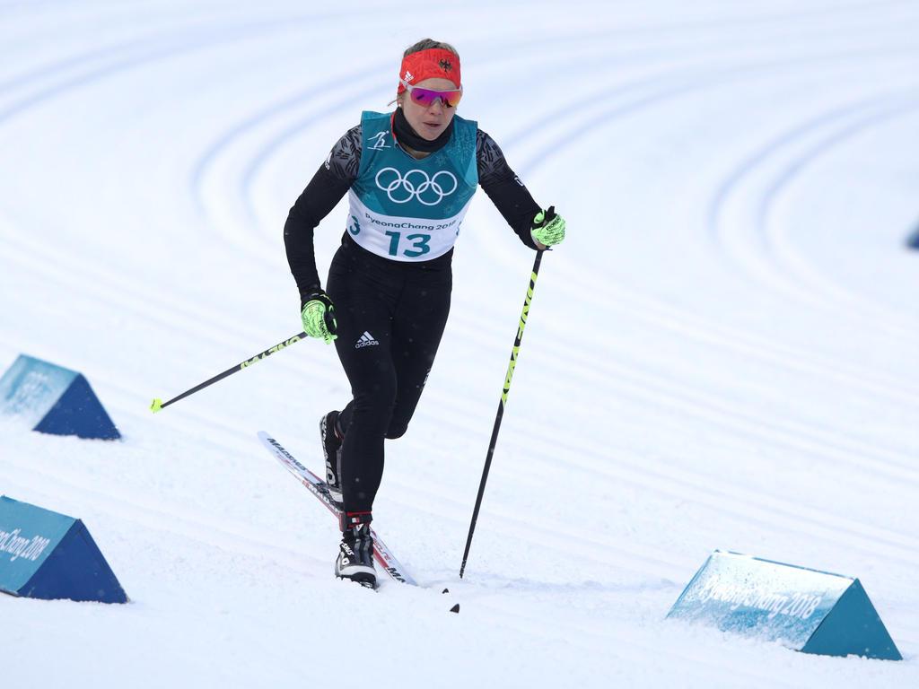 Sandra Ringwald fehlten Sekundenbruchteile zum Halbfinale