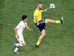 Pontus Jansson kam gegen Südkorea zum Einsatz