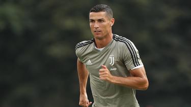 Juventus Turin holte Superstar Cristiano Ronaldo