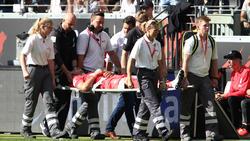 Jiri Pavlenka wurde in ein Krankenhaus gebracht