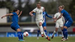 Das DFB-Team von Horst Hrubesch gewann gegen Island mit 2:0
