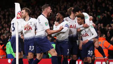 Los Spurs ganaron en casa del Arsenal. (Foto: Getty)