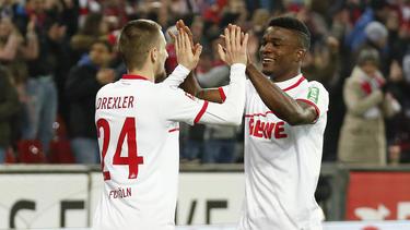 Drexler und Córdoba sorgten für den Sieg des 1. FC Köln