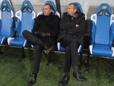 Eric Roy (manager general) y Julien Fournier en una imagen de archivo. (Foto: Imago)