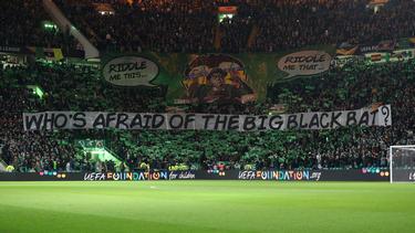 Celtic-Fans zeigten im Hinspiel eine beeindruckende Choreo