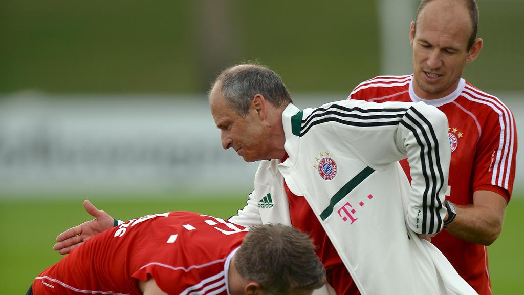 Fredi Binder arbeitete 36 Jahre lang für den FC Bayern