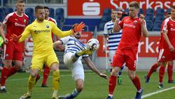 SV Sandhausen und MSV Duisburg trennten sich unentschieden