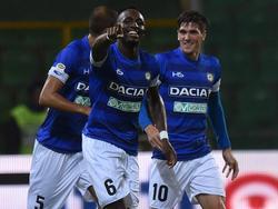 El Udinese remontó al Palermo con un doblete Seko Fofana (74, 79). (Foto: Getty)