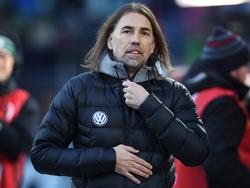 Trainer Martin Schmidt will keinen neuen Stürmer verpflichten