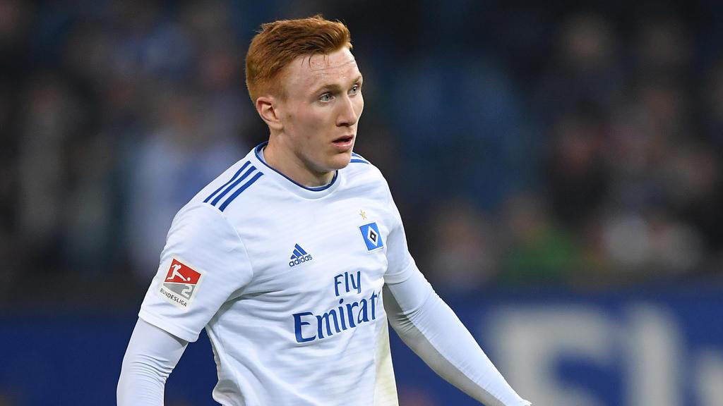 David Bates wechselt vom HSV in die 2. englische Liga
