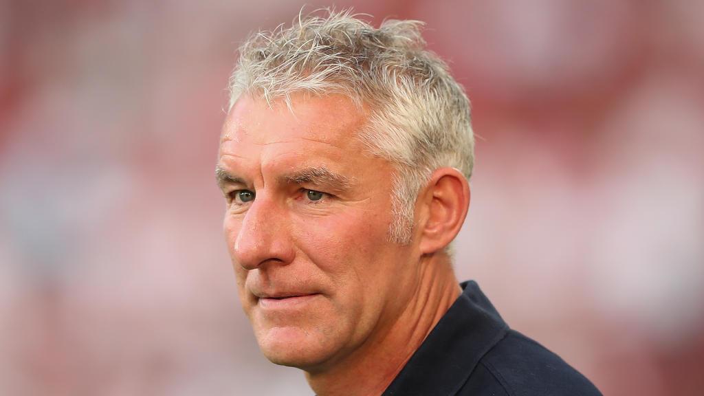 Hannover-96-Coach Mirko Slomka äußert sich zum Pokalaus