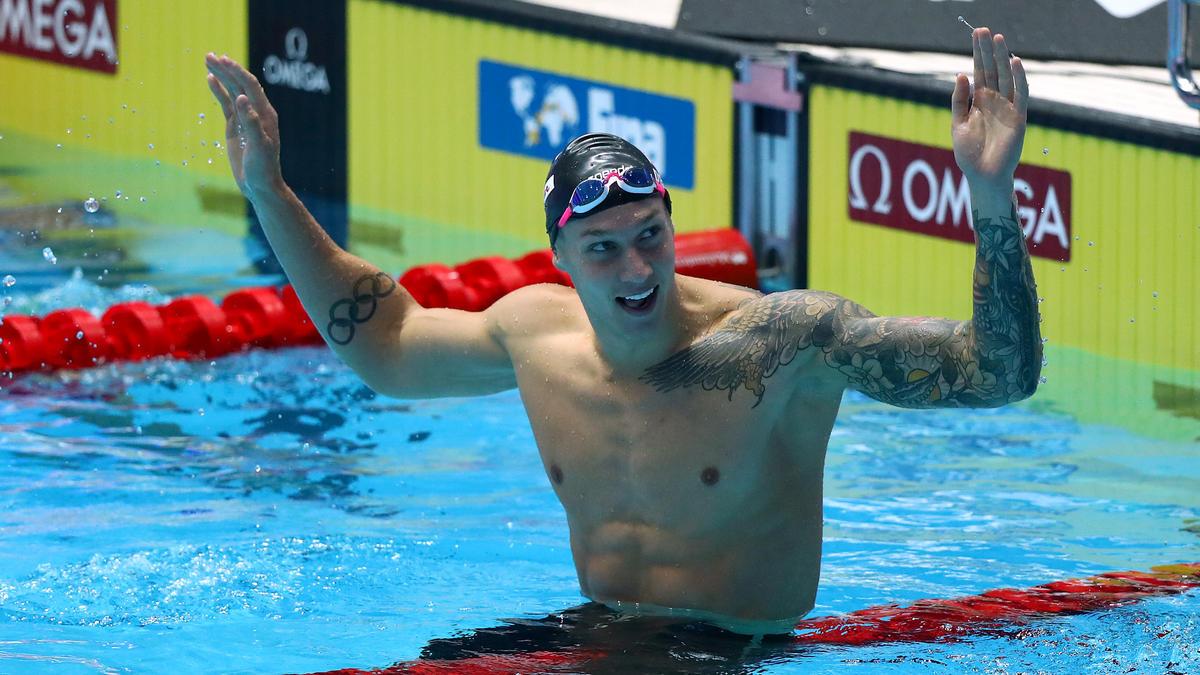 Caeleb Dressel könnte den Rekord von Michael Phelps brechen