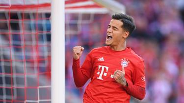 Coutinho erzielte sein erstes Tor für den FC Bayern
