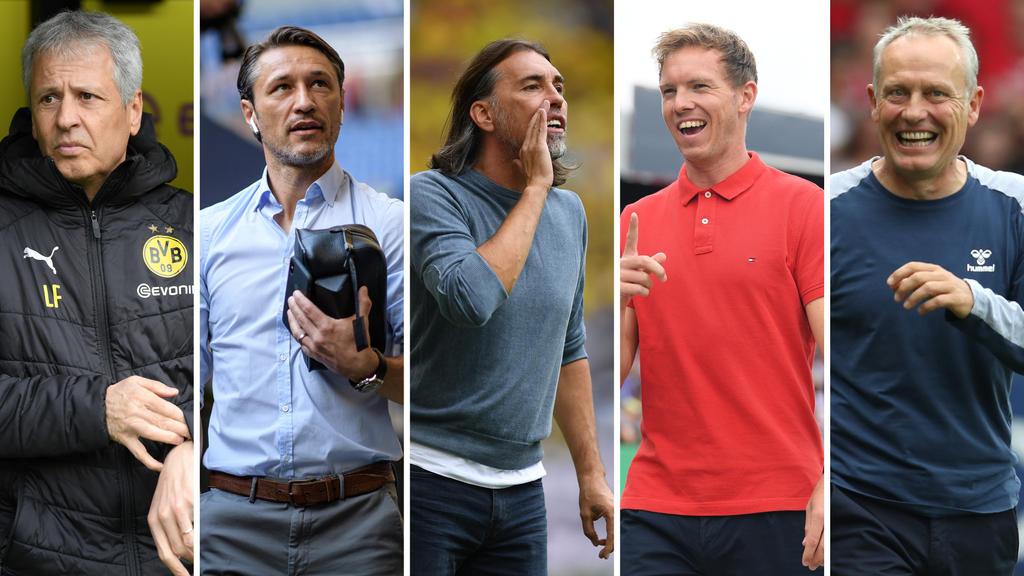 Favre beim BVB, Kovac beim FC Bayern und Co.: Wie sicher sind die Jobs der Trainer?