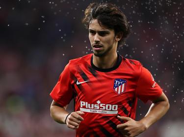 João Félix con la camiseta del Atlético.