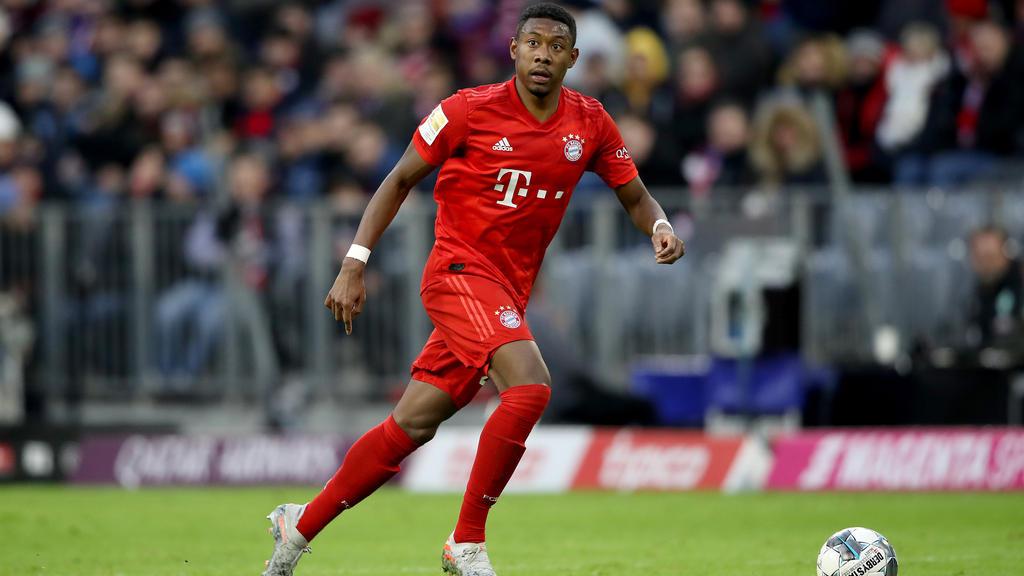 David Alaba ist eine feste Größe in der Bayern-Defensive