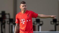 Hat im Trainingslager erstmals wieder mit den Bayern trainiert: Lucas Hernández