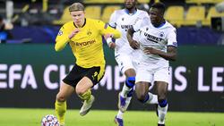 Odilon Kossounou (r.) spielte in der letzten Saison auch schon gegen Erling Haaland und den BVB