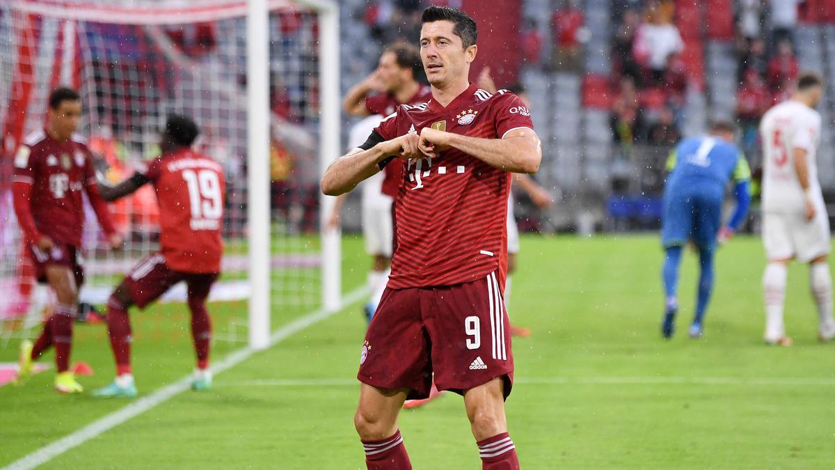 Robert Lewandowski erzielte sein zweites Saisontor gegen Köln
