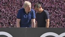 Kahn (li.) und Salihamidzic führen die Geschicke beim FC Bayern