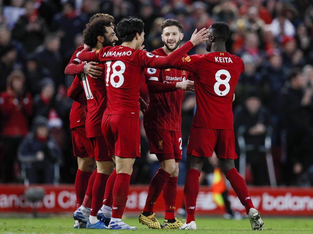 Liverpool feiert den 24.Sieg im 25.Spiel