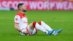 Valon Berisha fällt gegen den 1. FC Kaiserslautern aus