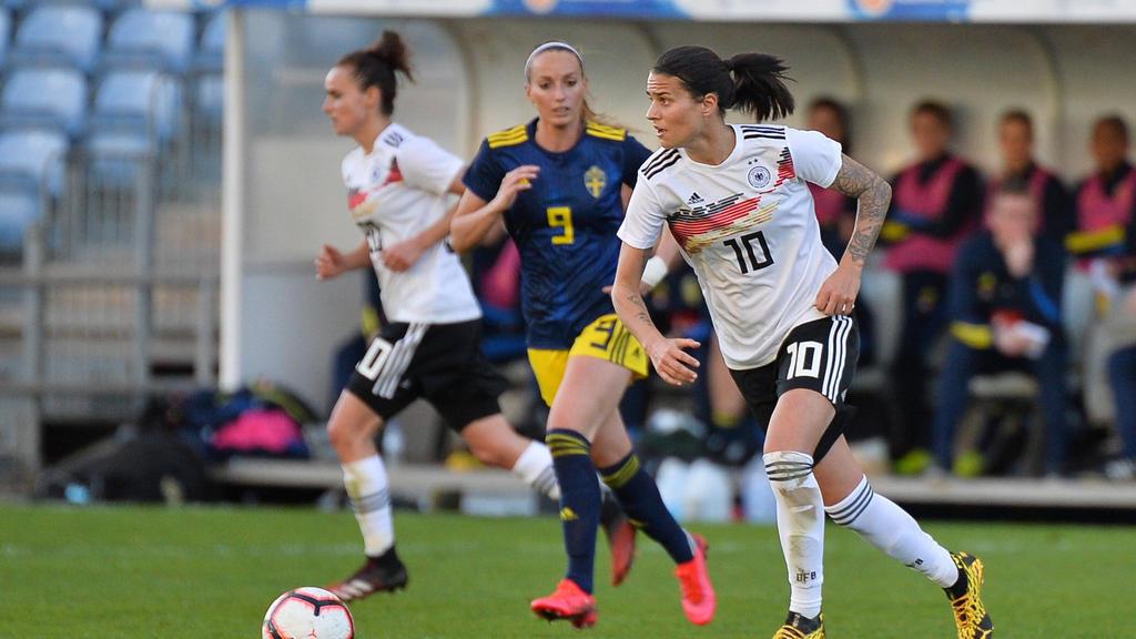 Deutschland setzte sich gegen Schweden durch