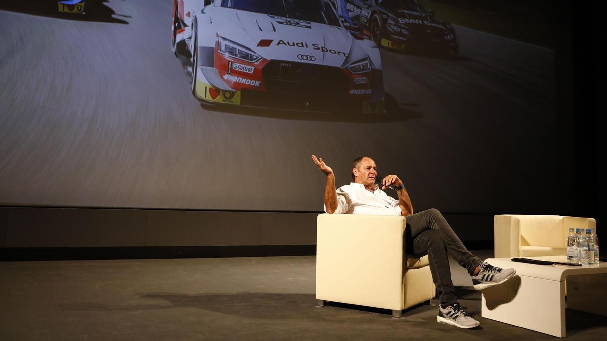 Für Berger unvorstellbar: Ein DTM-Rennen, bei dem die Zuschauer ausgesperrt werden