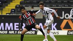 Eintracht Frankfurt kam gegen den SC Freiburg nicht über ein Remis hinaus