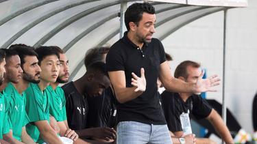 Xavi bleibt Trainer bei Al-Saad