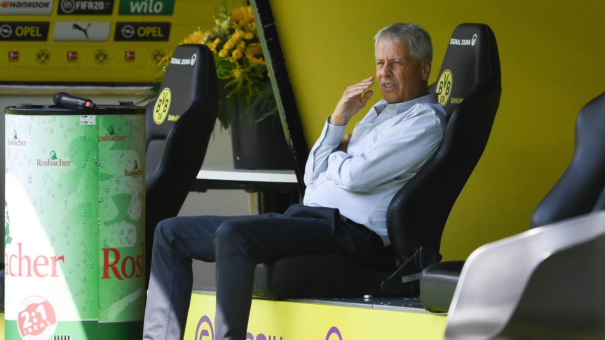 BVB-Coach Lucien Favre übt Kritik