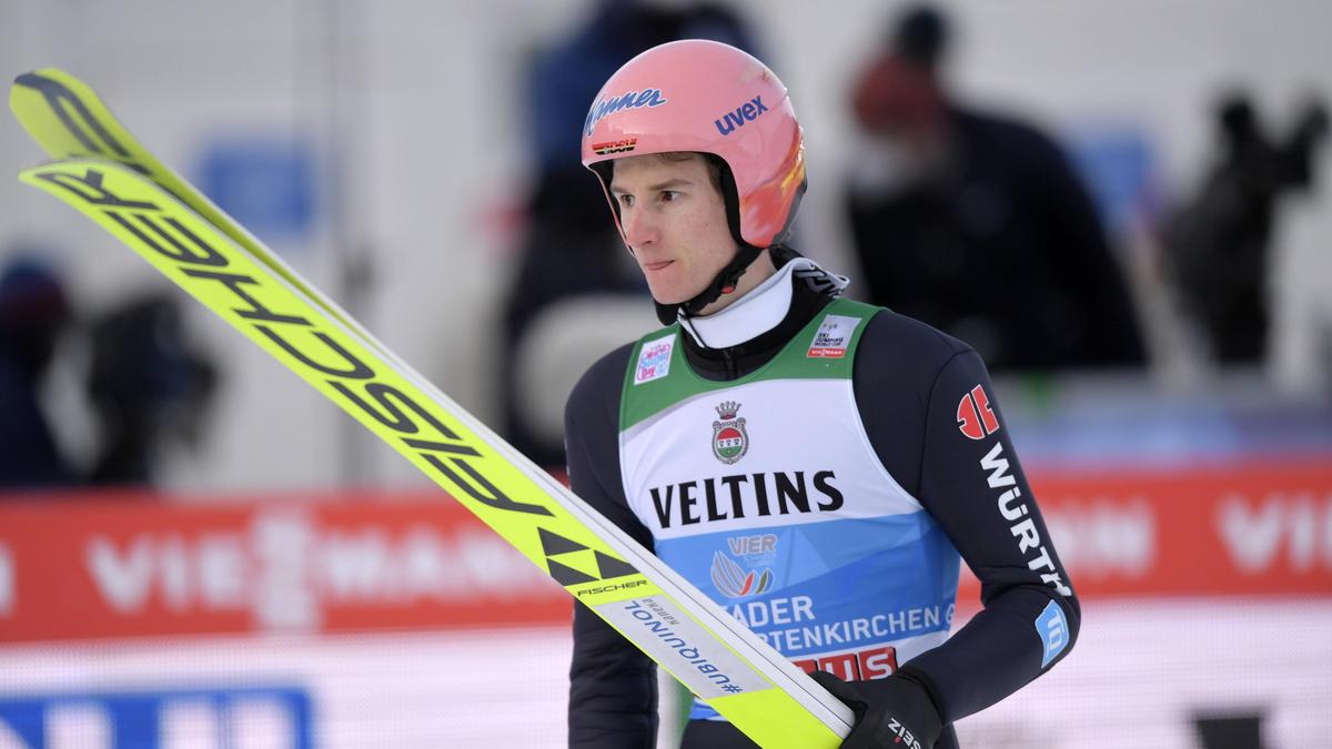 Karl Geiger wurde bei der Vierschanzentournee Zweiter