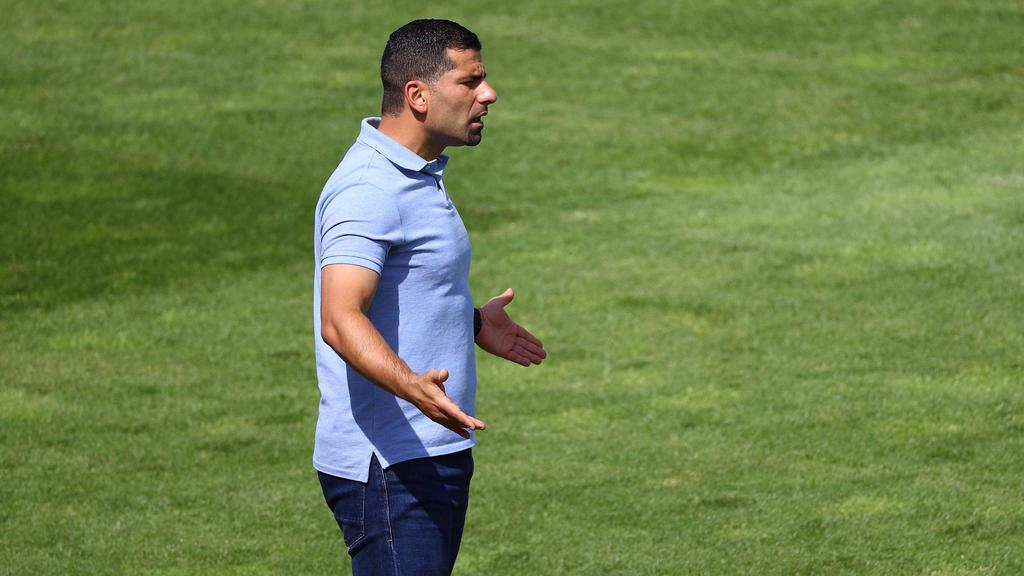 Dimitros Garmmozis ist der neue Coach des FC Schalke 04