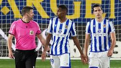 Alexander Isak (M.) und Mikel Merino (r.) fanden ihr Glück beim BVB nicht