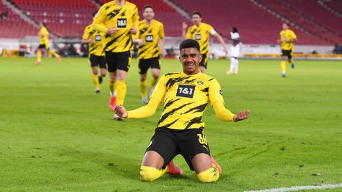 BVB-Talent Ansgar Knauff erzielte das Siegtor gegen den VfB