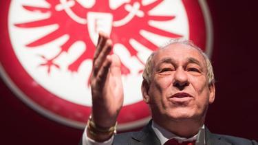 Präsident von Eintracht Frankfurt:Peter Fischer