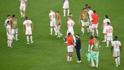 Die Schweizer gingen gegen Italien unter