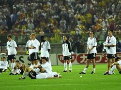 WM-Finale 2002: Niedergeschlagene DFB-Elf