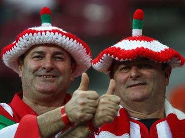 Vor dem Europa-League-Finale zwischen Atlético Madrid und Athletic Bilbao sorgen die Fans der Basken für gute Stimmung.
