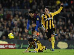 Harte Gangart von Daniel Mateos gegen Barca