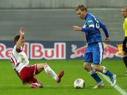 Mehr Krampf als Kampf bot RB Leipzig