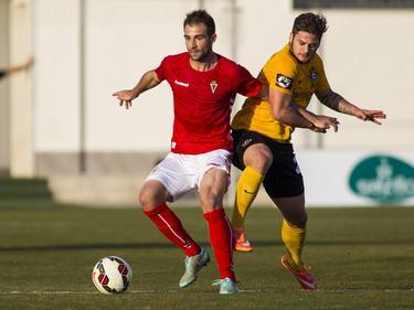 El Real Murcia sacó un empate y se mantiene en cabeza. (Foto: Imago)