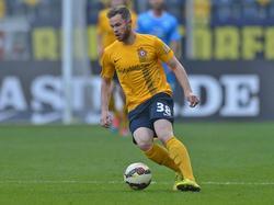 Dynamisch: Tobias Müller im Dress von Dynamo Dresden