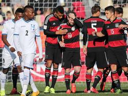 Deutsche U20 souverän gegen Honduras