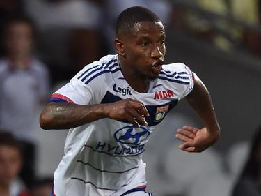 Claudio Beauvue en su etapa como jugador del Lyon. (Foto: Getty)